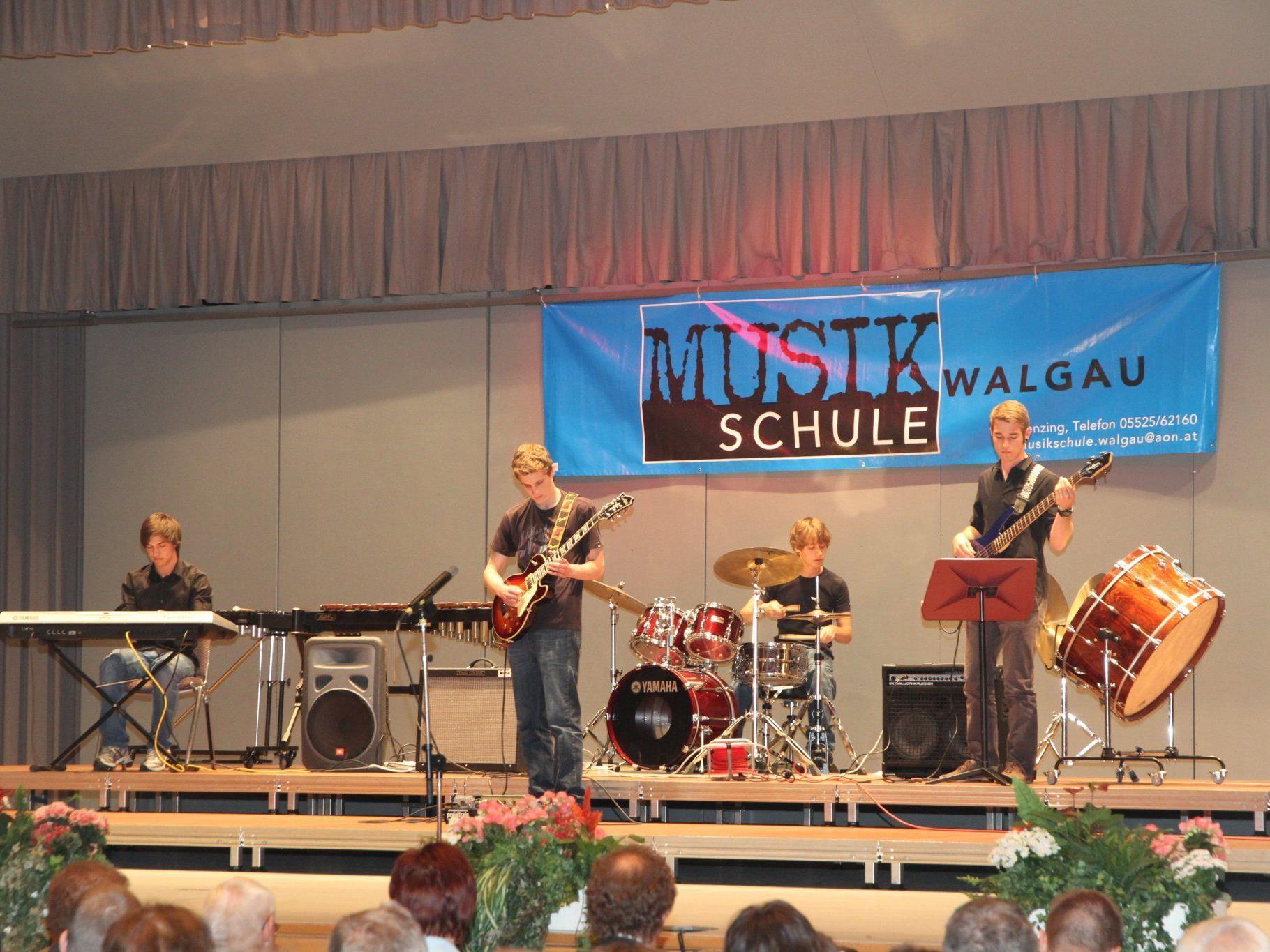 Beim Jahreskonzert der Musikschule Walgau