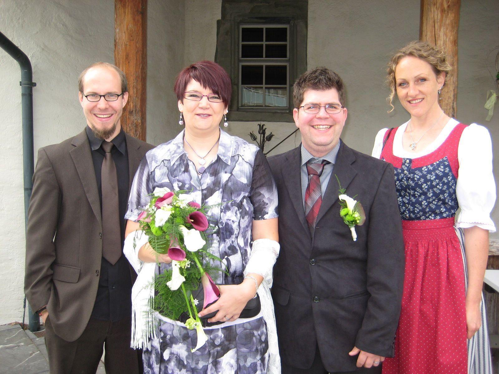 Daniela Wachter und Andreas Baldauf haben geheiratet.