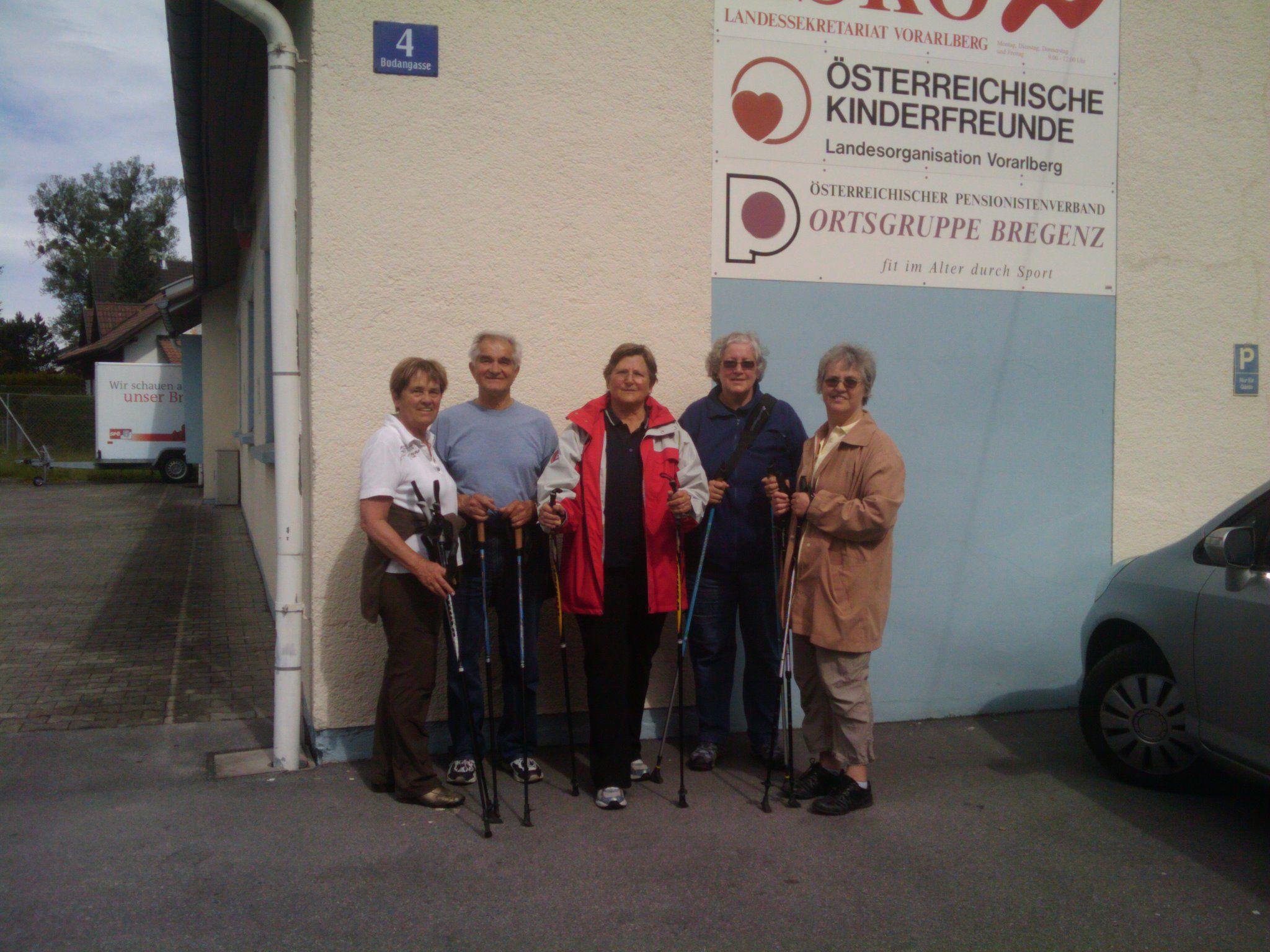 PVÖ-Seminarangebot: Übungsgruppe Nordic Walking