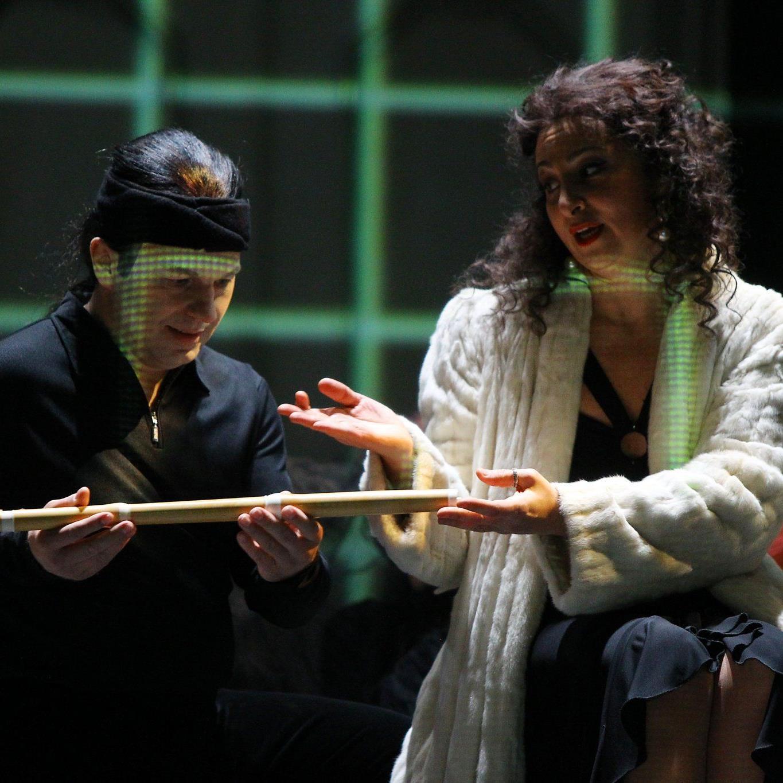 """""""Die Zauberflöte"""" wurde im Februar 2011 im Kornmarkttheater aufgeführt."""
