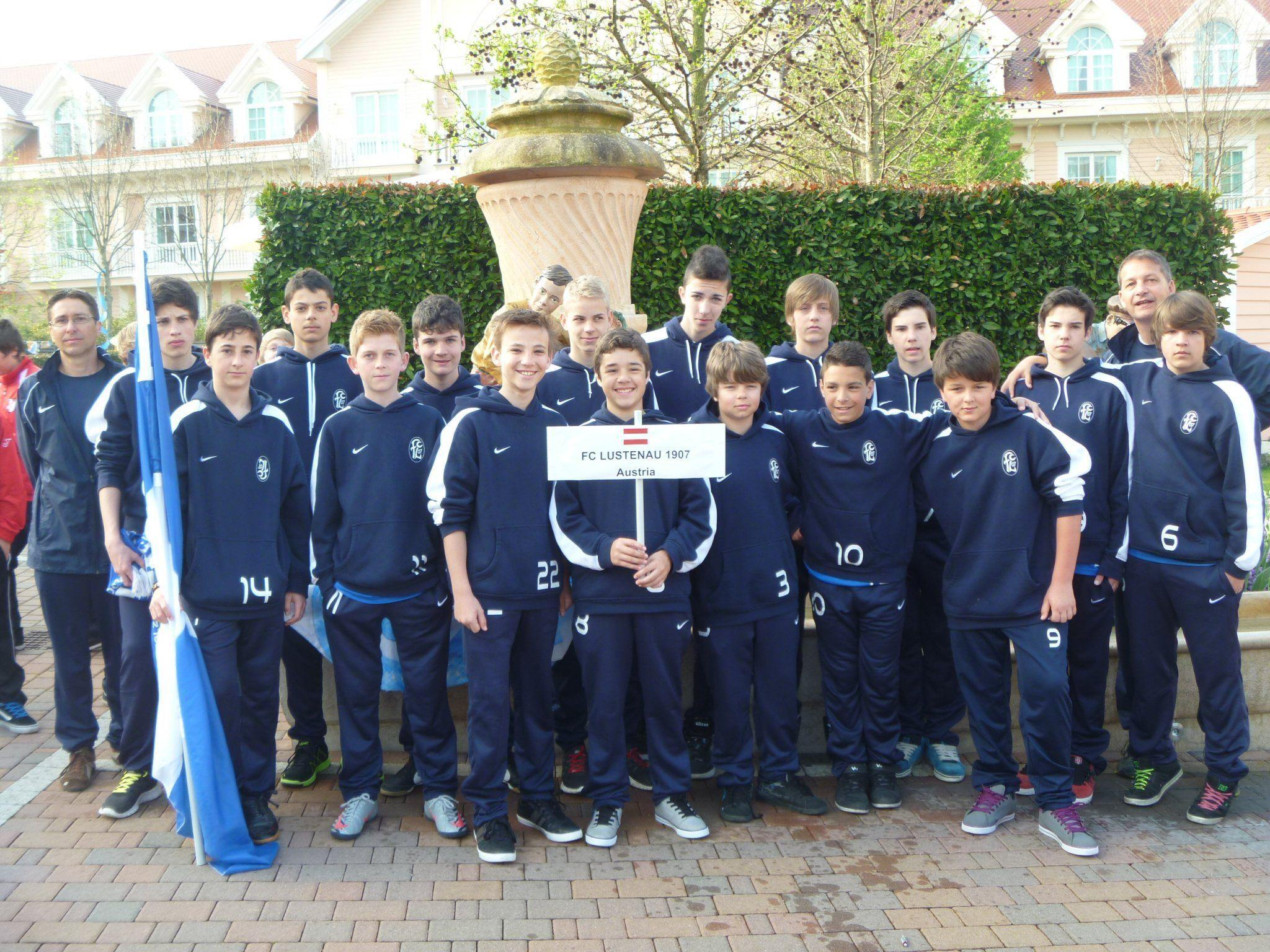 Die U14 des FC Lustenau erlebte ereignisreiche Tage beim Trainingslager am Gardasee.