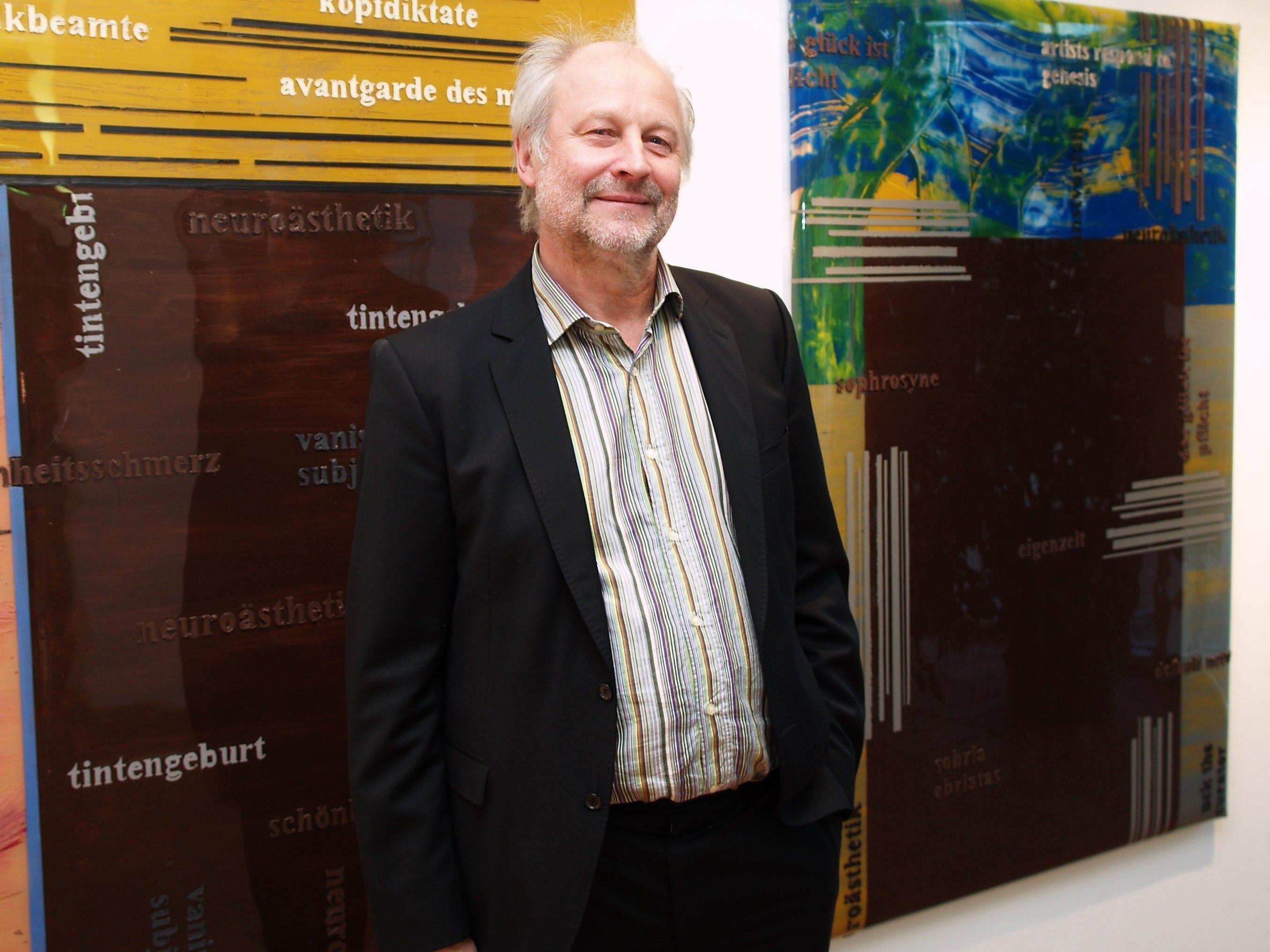 Manfred Egender zeigt bis 30.September 2012 im Bildungshaus seine Arbeiten.