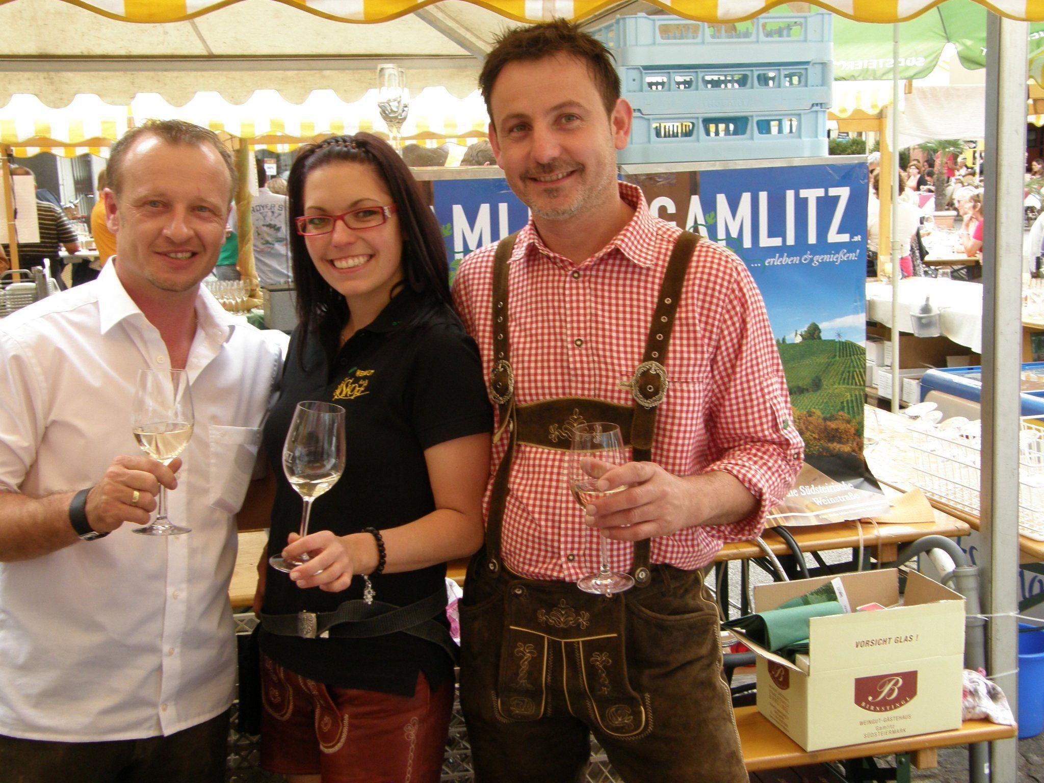 Südsteirische Winzer zu Gast in Bregenz