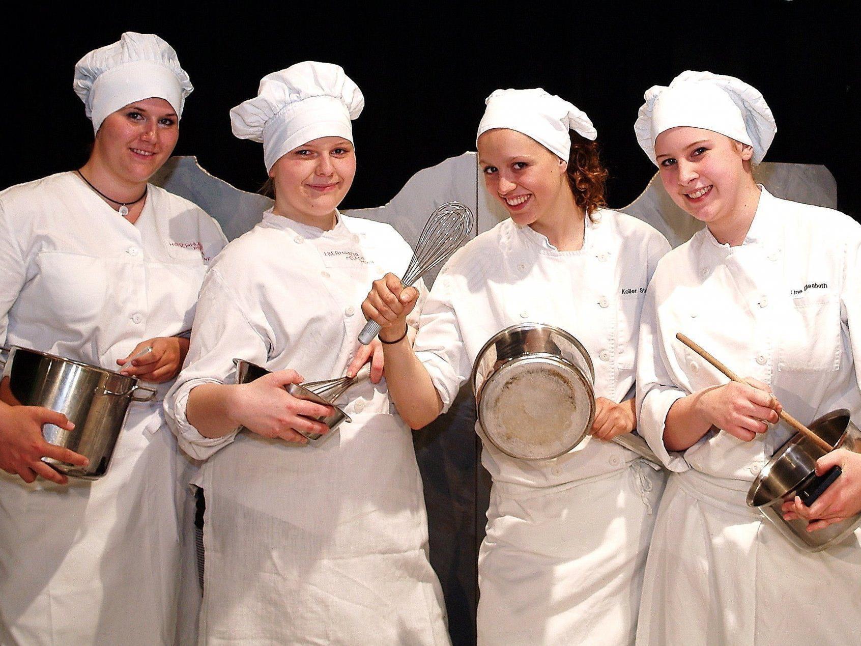 Beim Kochbewerb waren vor allem Teamgeist, Einfallsreichtum und fachliches Können gefragt.