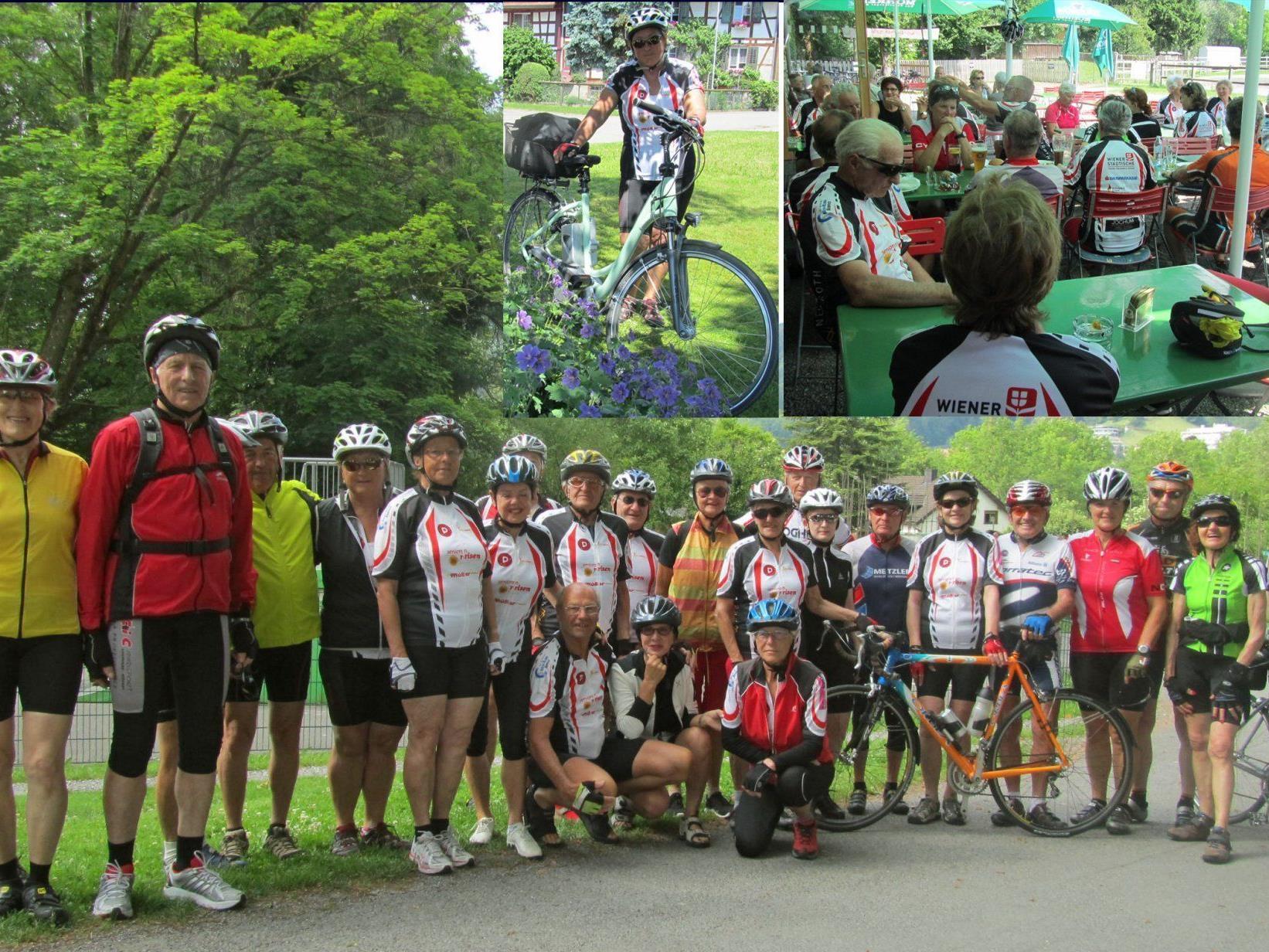 Team per pedales: Im Thurgau unterwegs