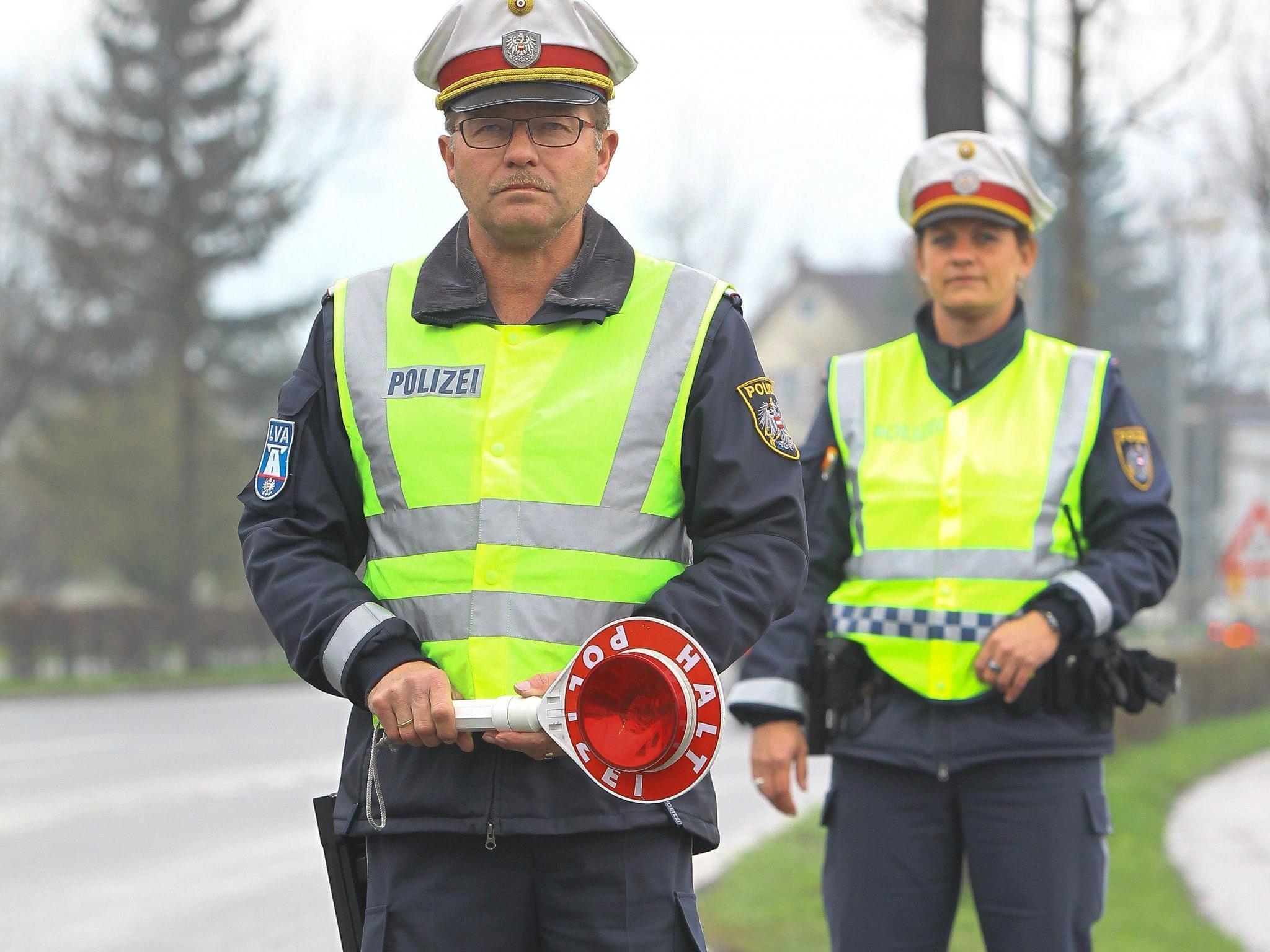 Die Polizei führt regelmäßig Verkehrskontrollen im Dornbirner Stadtgebiet durch.