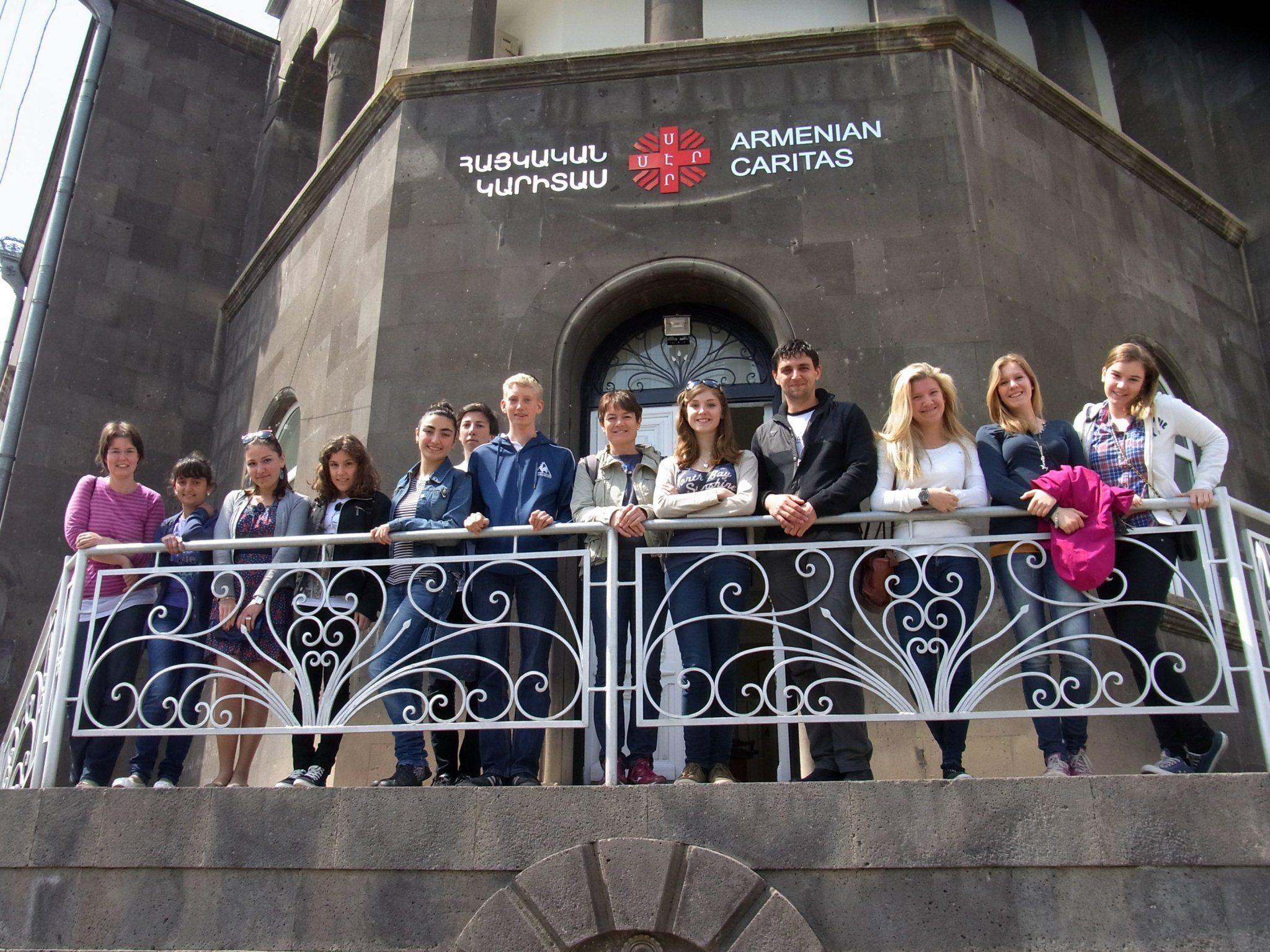 Eine Gruppe Schüler des BG Dornbirn reiste Anfang Mai nach Armenien.