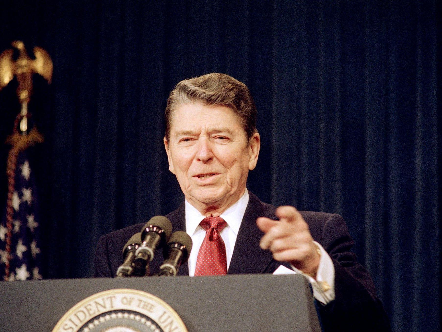 Makabere Versteigerung: Eine Ampulle mit dem (angeblichen) Blut Ronald Reagans.