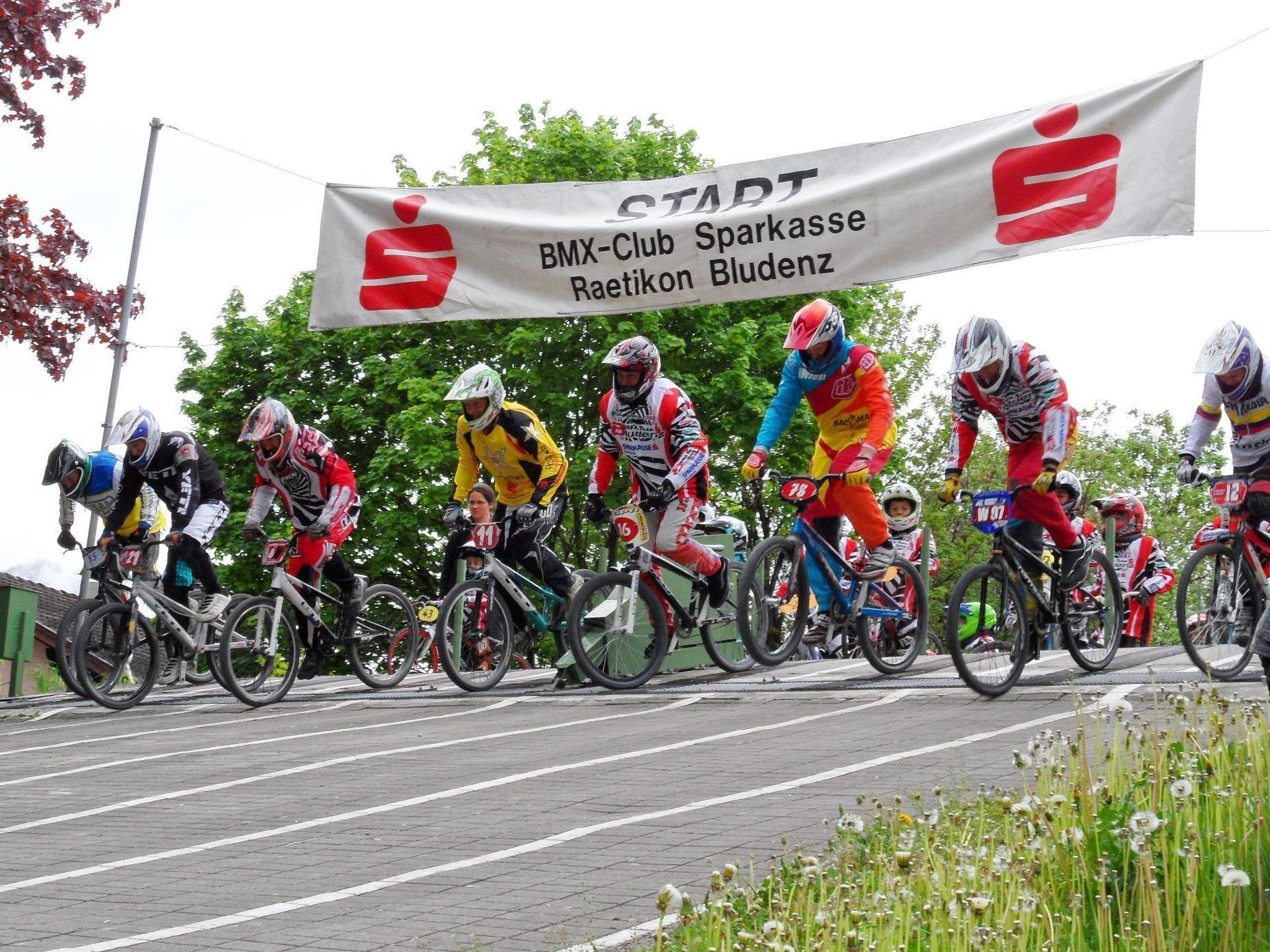 Die Bludenzer dominierten die BMX-Landesmeisterschaft.