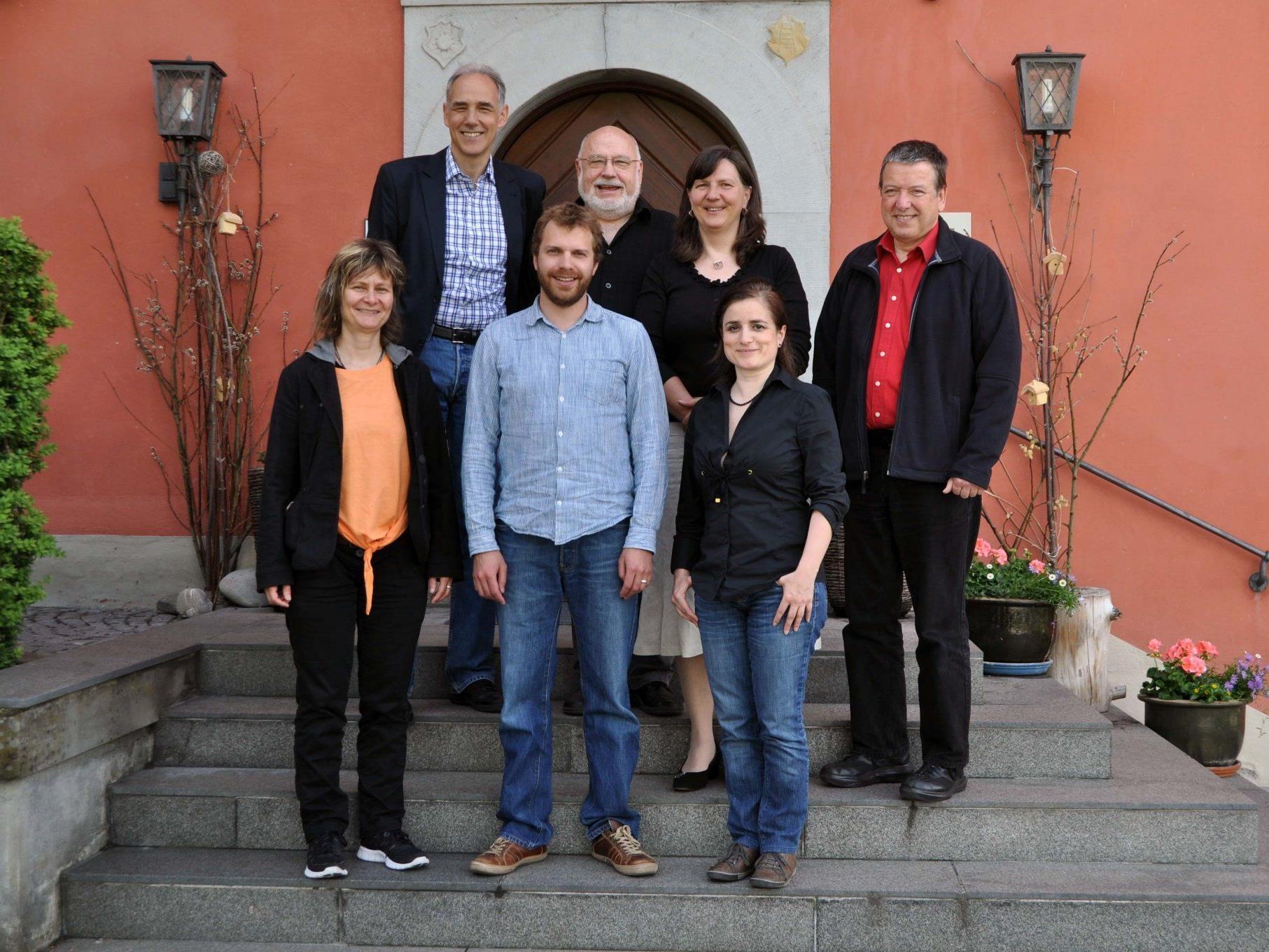 Zeugnisverleihung für das sechssemestrige Nachdiplomstudium Psychosoziale Beratung in Schloss Hofen.