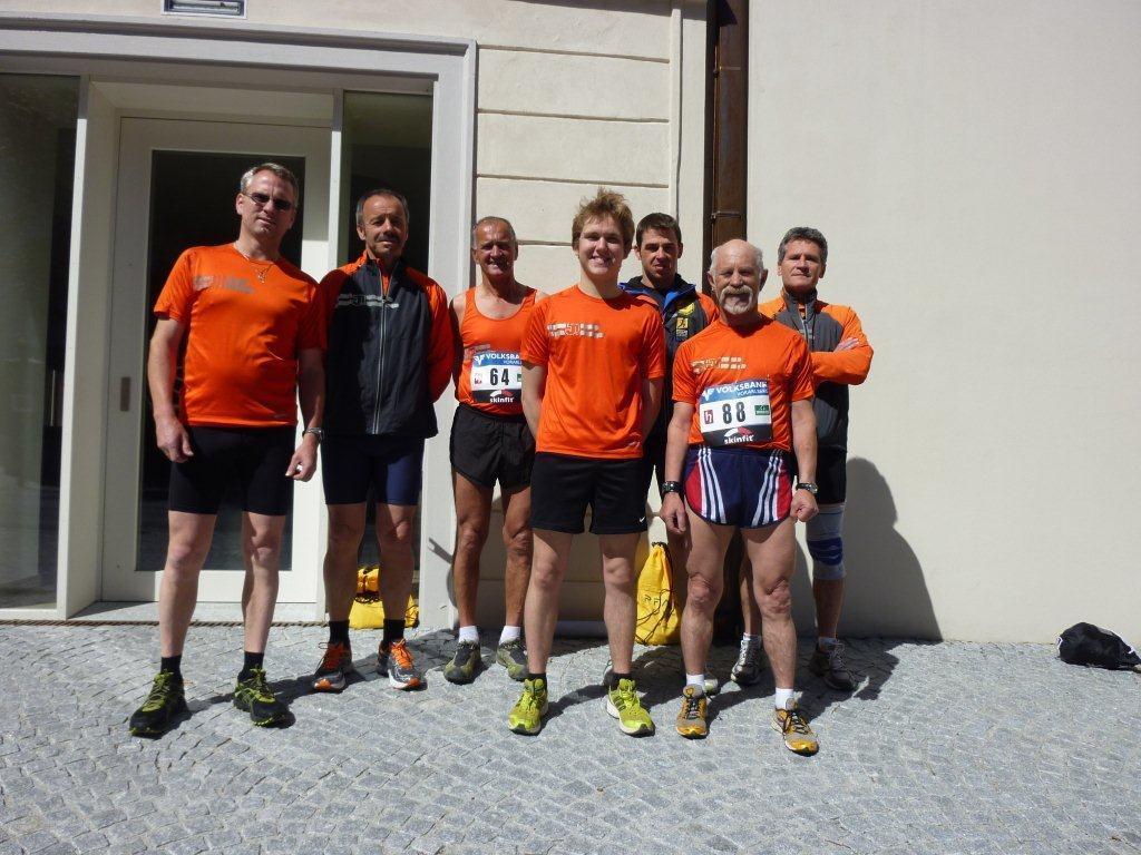 Die BLT Läufer bezwangen den Sprintberglauf in Hohenems