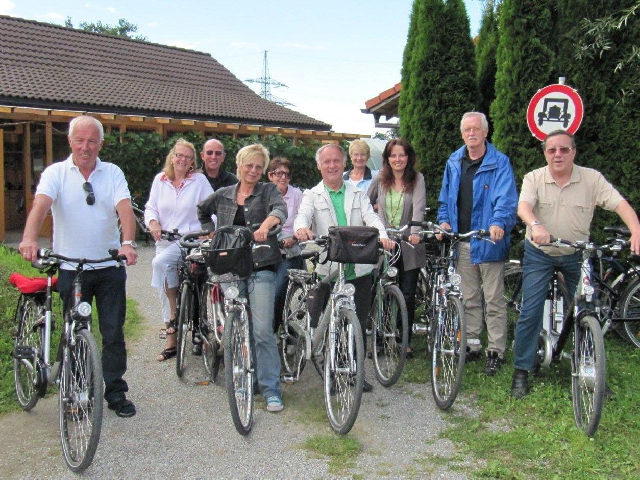 Der Vorstand der Seniorenbörse Bregenz tritt auch weiterhin kräftig für die Senioren in die Pedale.