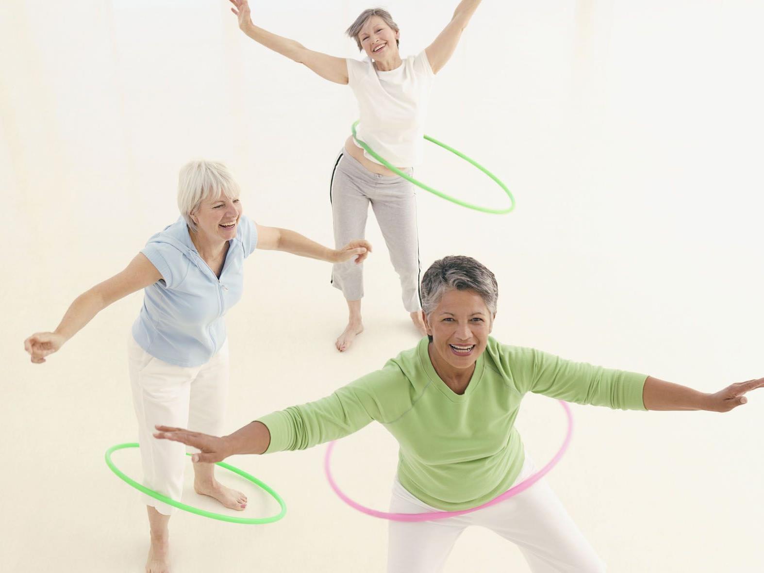 Körper und Geist mit Bewegung unterstützen.