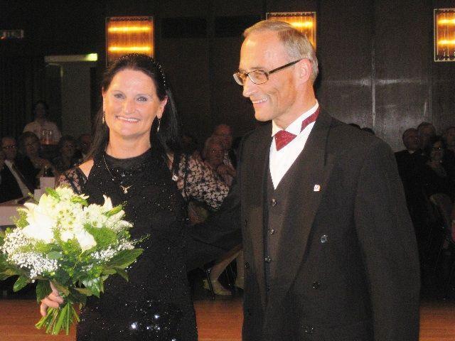 Das erfolgreiche Tanzpaar Ria und Franz Steinbichler.