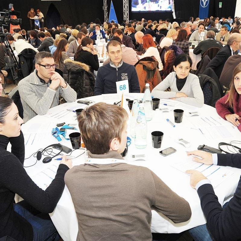 Rund 1000 Personen wurden in die Entwicklung einer neuen Unternehmensstrategie mit einbezogen.