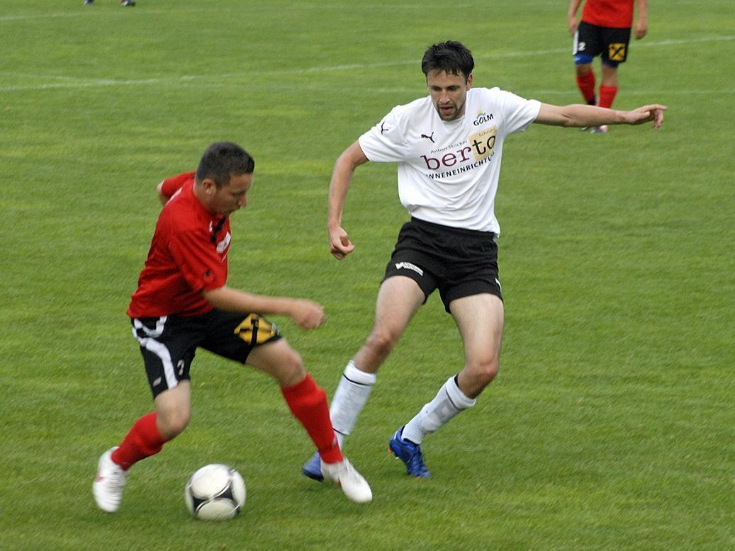 Schruns 1b errang zu Hause den Sieg gegen FC Hard 1b.