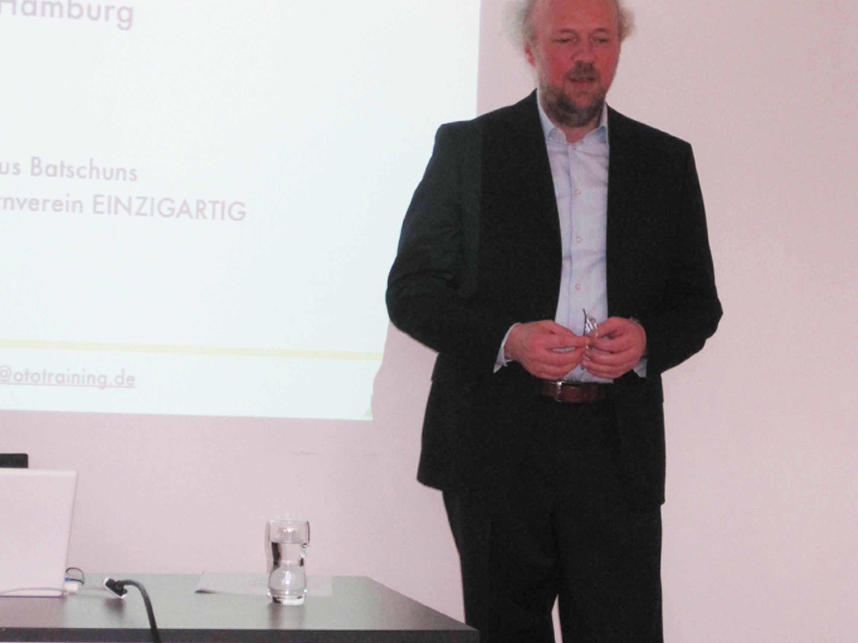 Herr Joachim Kunze, Institut für Otopädie, Hamburg