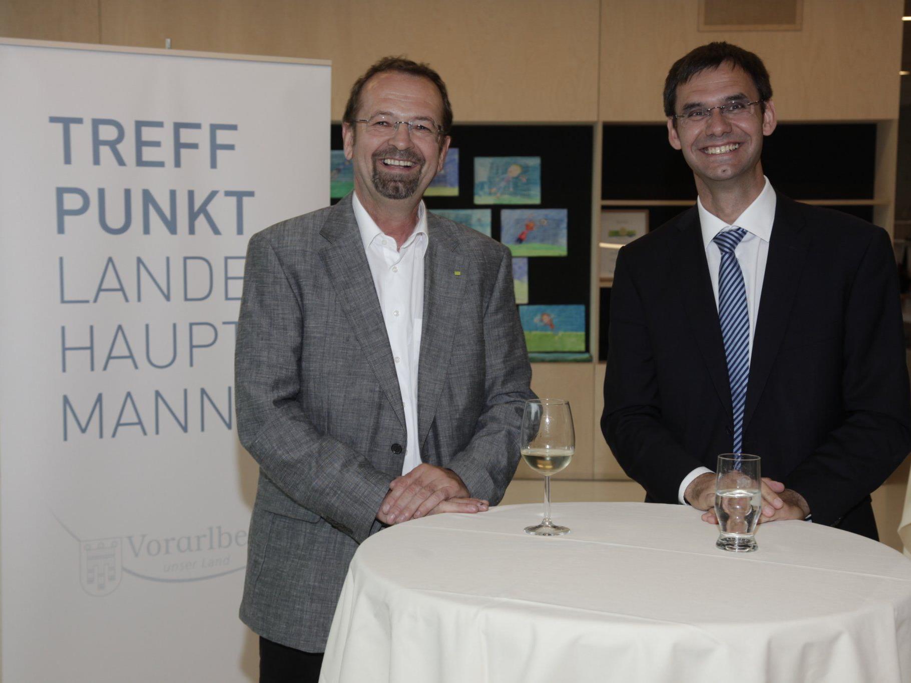 """Treffpunkt Landeshauptmann"": Dialog mit freiwillig Engagierten."