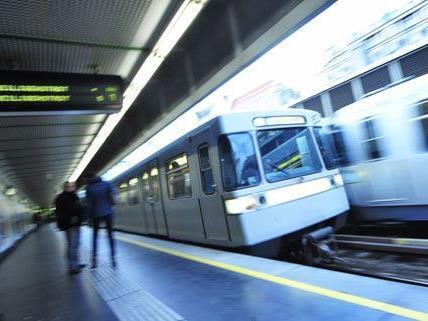 In einer U4-Station kam es zu einem gefährlichen Zwischenfall