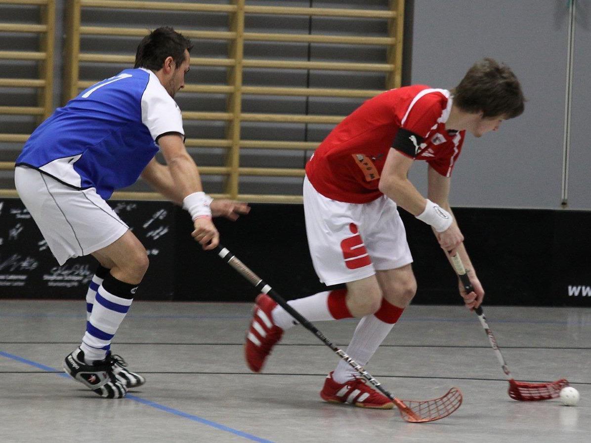 Zwei Tage lang Unihockey vom Feinsten in der Feldkircher Reichenfeldhalle an Pfingsten.