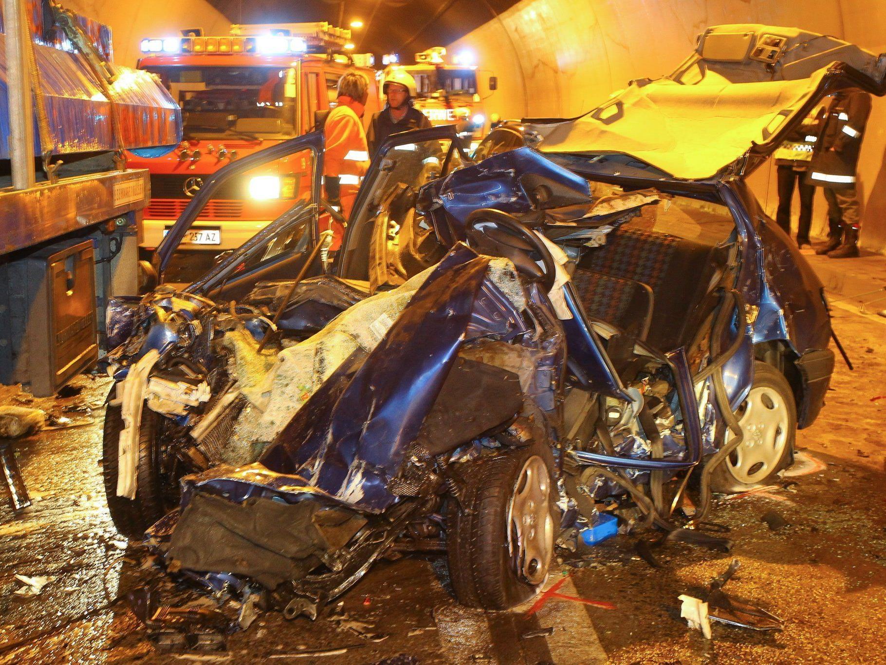 Der Unfall im Dalaaser Tunnel forderte das Leben einer 51-jährigen Frau.
