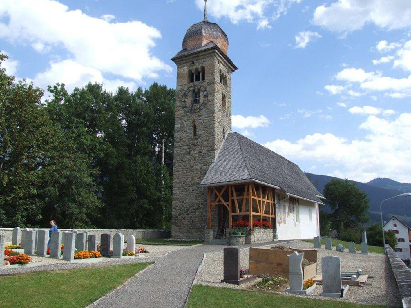 Auch Waltensburg im Bündner Oberland liegt auf dem Weg der Kulturwanderung mit Werner Mathis.