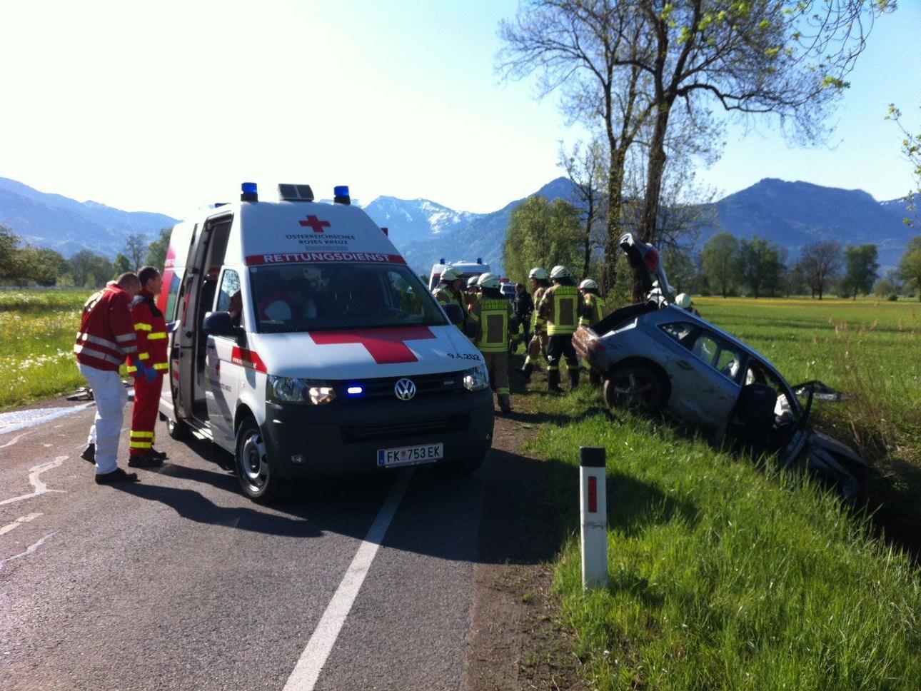 Pkw-Unfall am Dienstagmorgen in Dornbirn forderte einen Verletzten