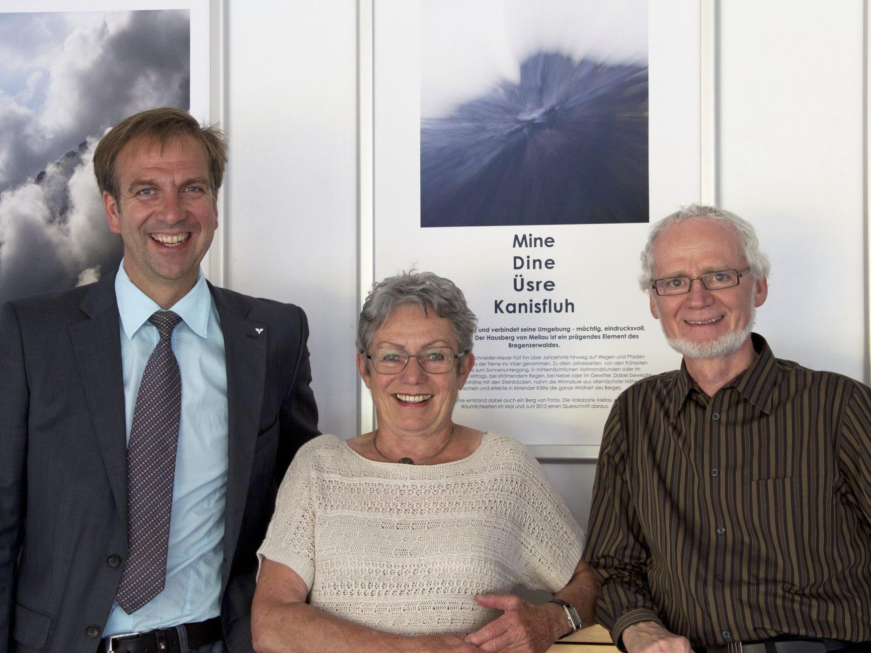 Filialleiter Otmar Natter, Karin Schneider-Meyer und Jürgen Gerdes