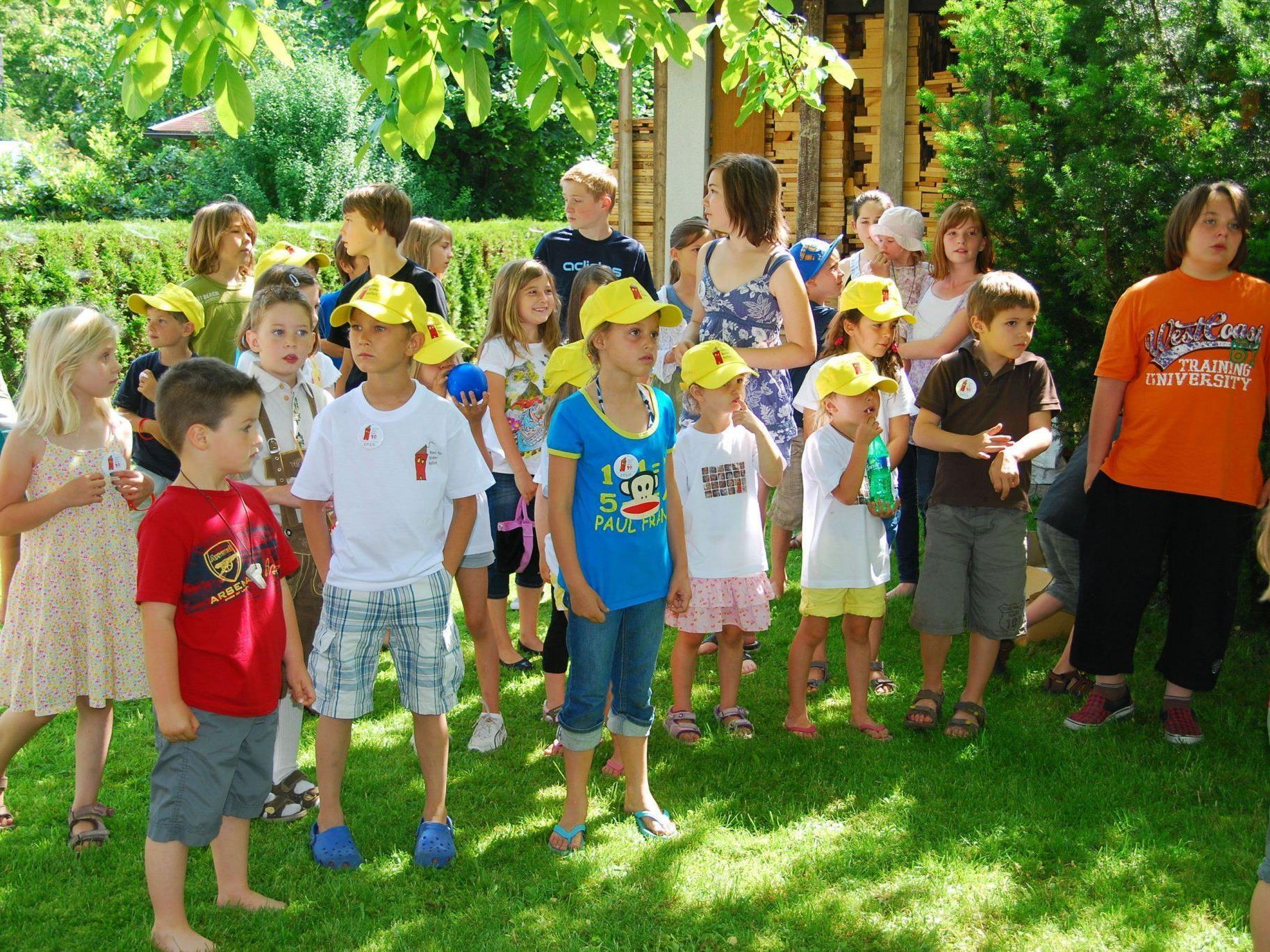 Kinder aber auch Erwachsene dürfen sich auf den Spieltag Pfingstmontag freuen.