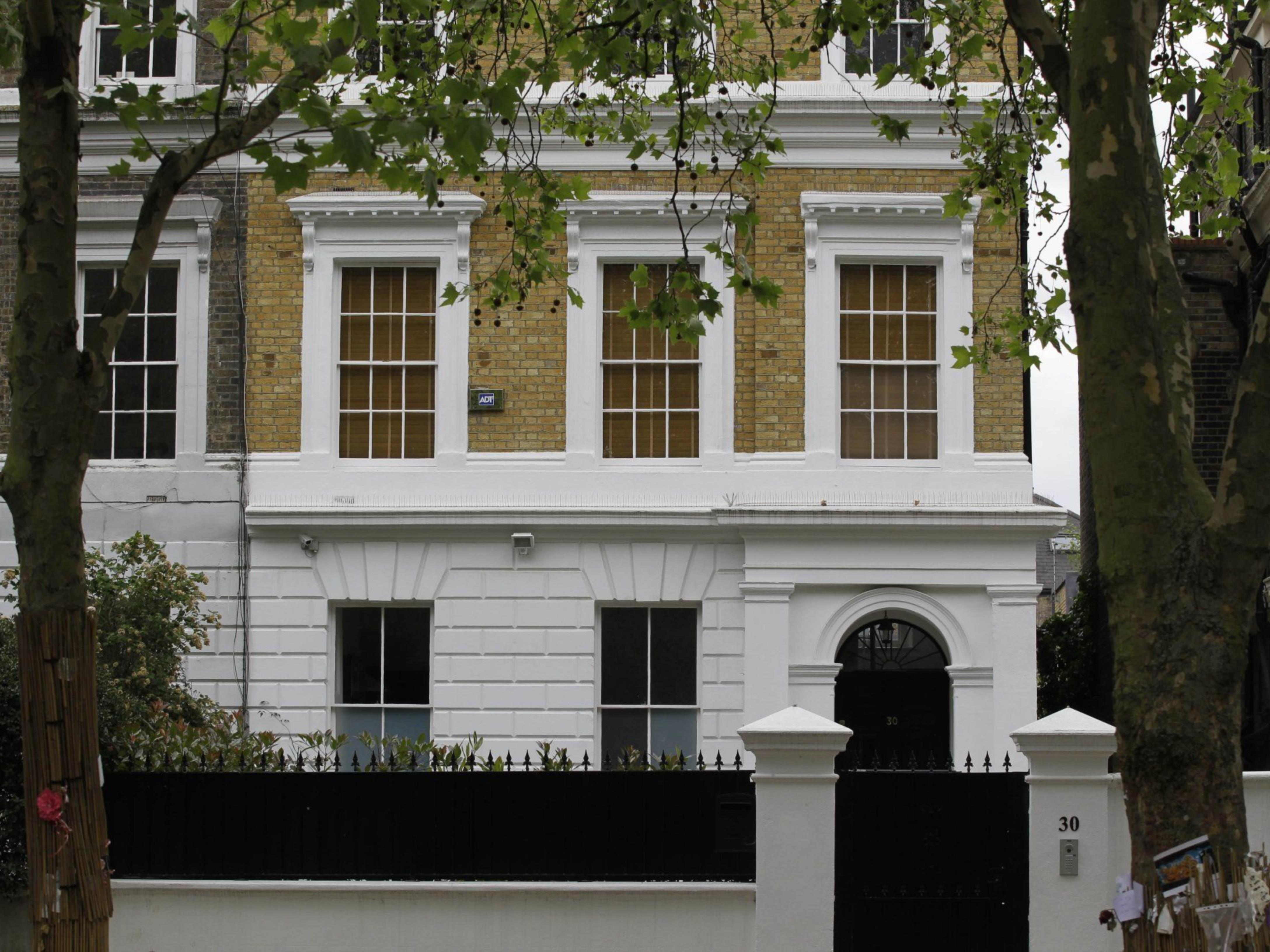 Für 3,38 Millionen Euro zu haben: Das Haus von Amy Winehouse in London.