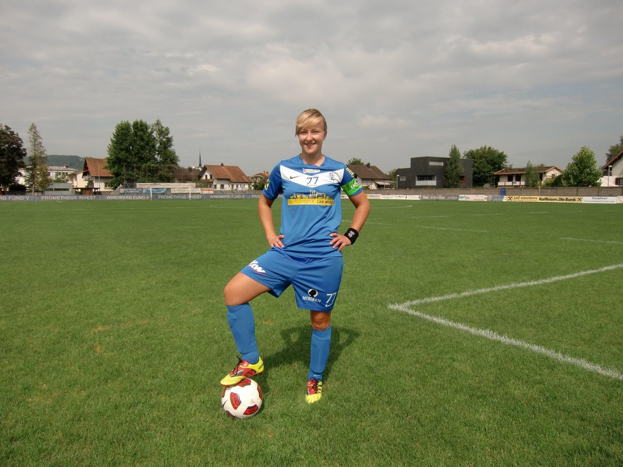 Ab Sommer 2012 kickt Zeljka Sipura für die Spielgemeinschaft SC Austria Lustenau/FC Lustenau.