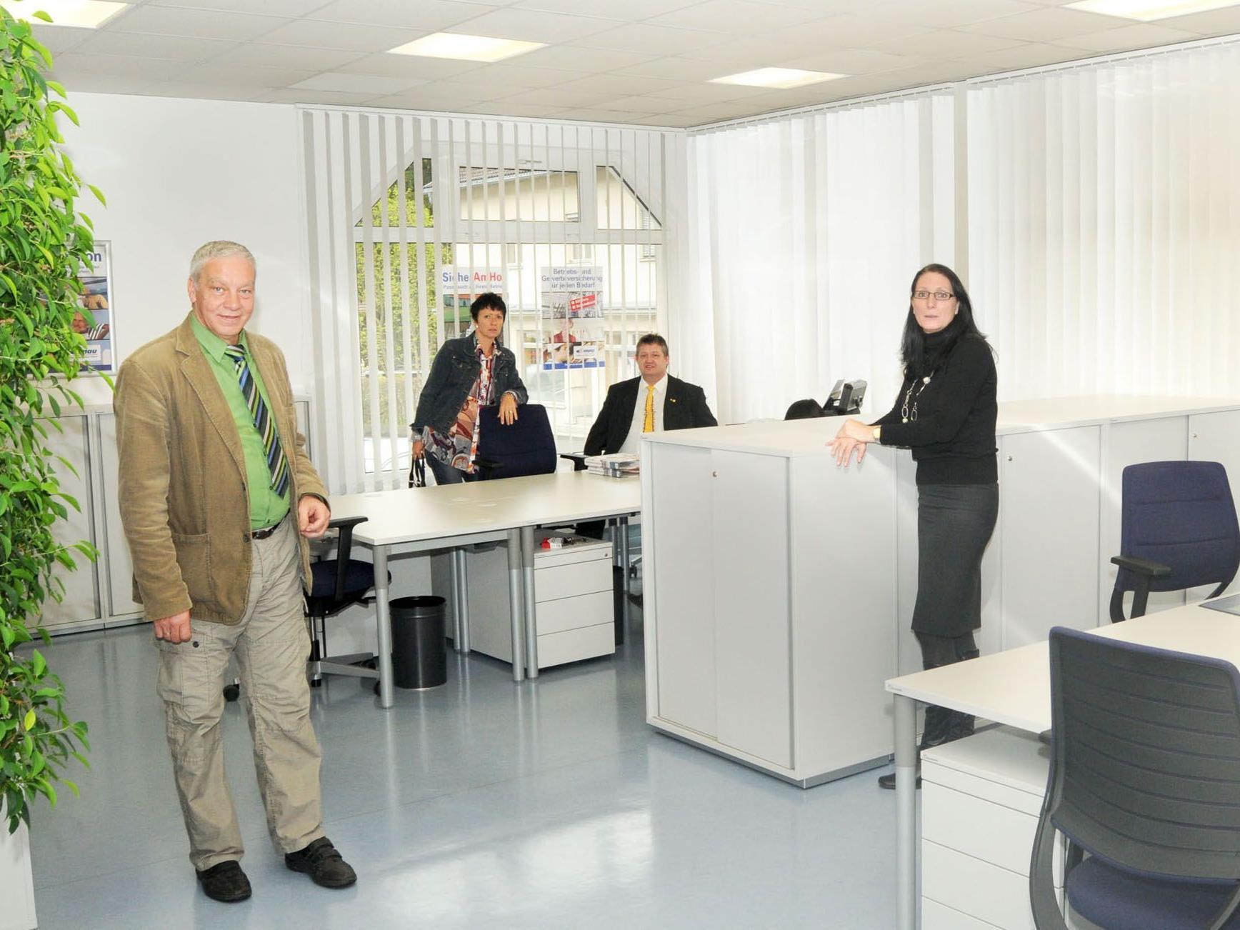 Die Bludenzer Geschäftsstelle der Donau Versicherung in neuem Glanz