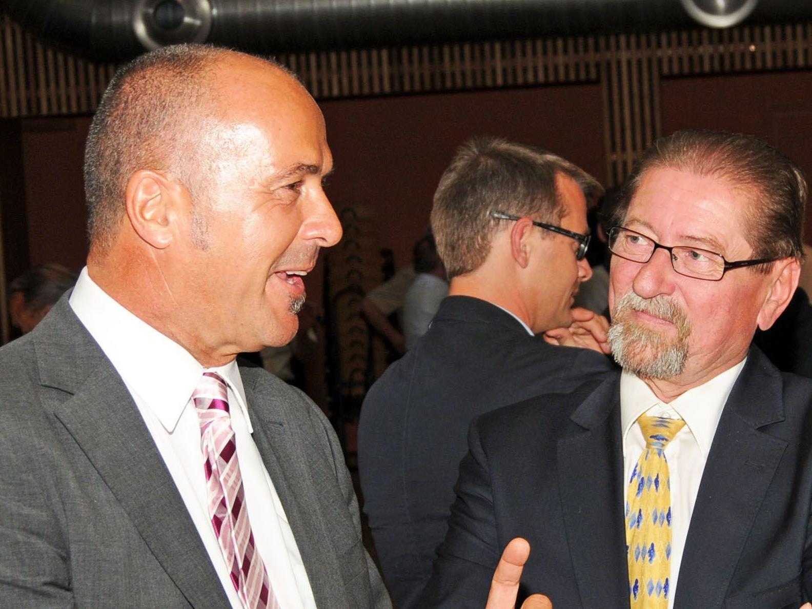 Herbert Sparr soll im April 2013 dem bisherigen Bürgermeister Werner Schneider nachfolgen.