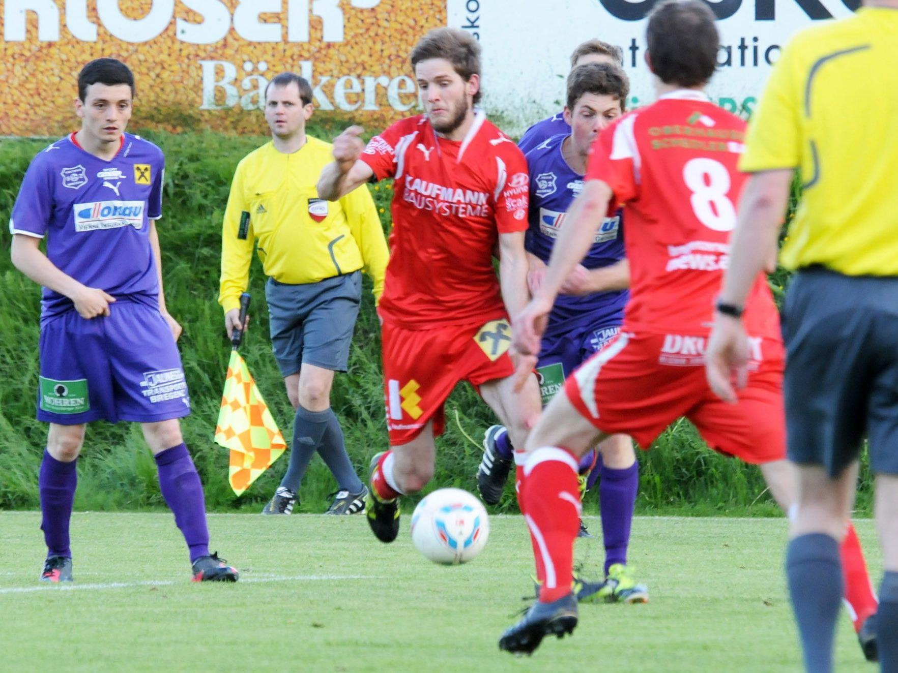 Der FC Viktoria Bregenz konnte sich gegen die Gäste aus Bizau nicht durchsetzen.