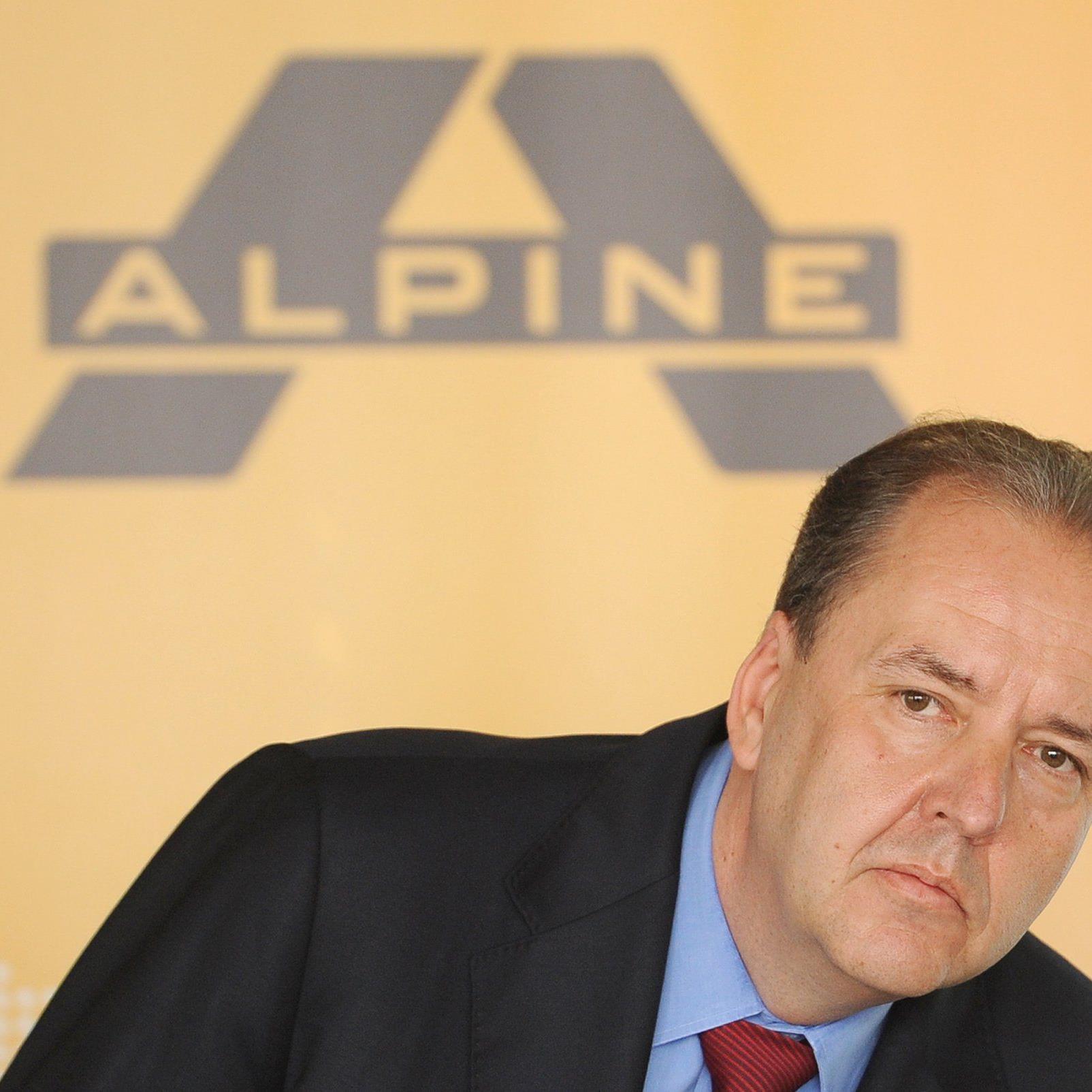 Alpine-Chef Johannes Dotter bei einer Pressekonferenu am 7. Mai in Wien.