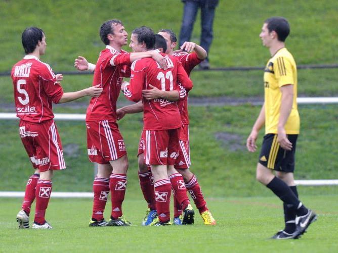 FC Andelsbuch trifft im Topspiel daheim auf Austria Lustenau Amateure.