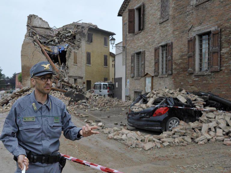 Das Erdbebengebiet im Norden Italiens kommt nicht zur Ruhe.