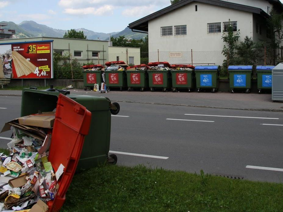 Die Probleme bei den Containerstellen häufen sich in letzter Zeit.