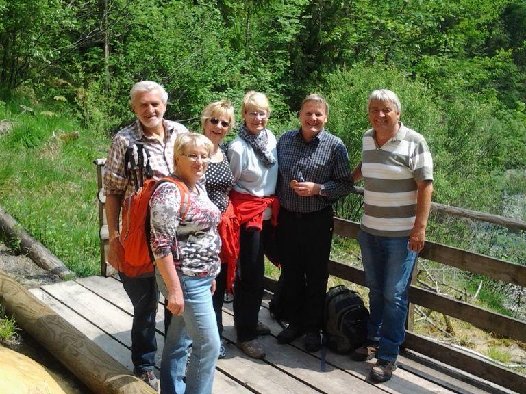 Die Quelltuff-Wandergruppe