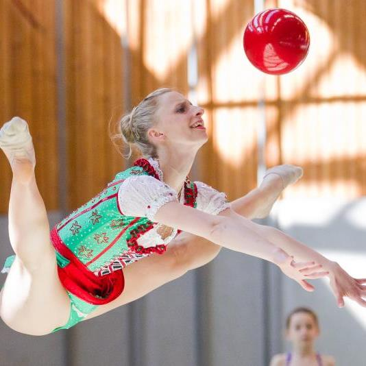 Caroline Weber bei den Vorarlberger Meisterschaften