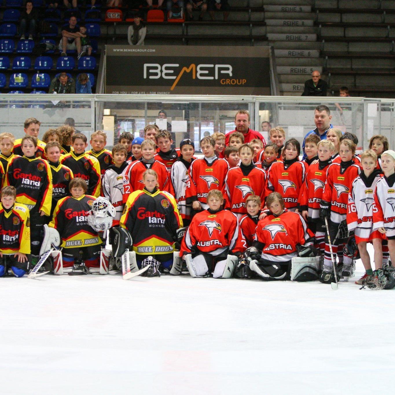Zweimal gewann Rheintal/Bulldogs U-12 gegen Österreichs Auswahl.
