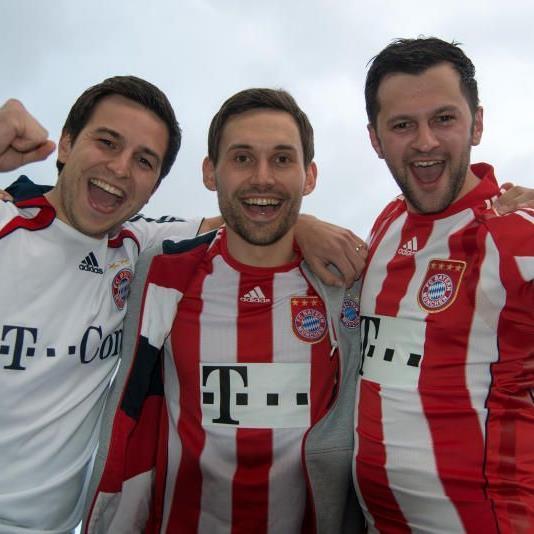 Dominik Schuchter, Alex Kathrein und Rene Ullmer.