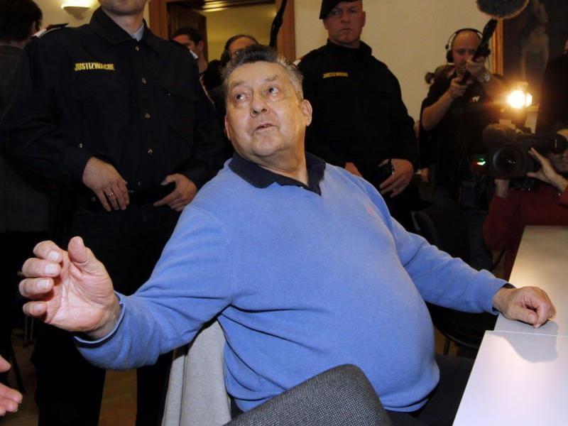 Laut Gericht ist Helmut Elsner fit für die Verhandlung.