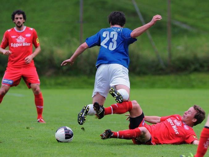 FC Au trifft auf den Topfavorten FC Lustenau Amateure.