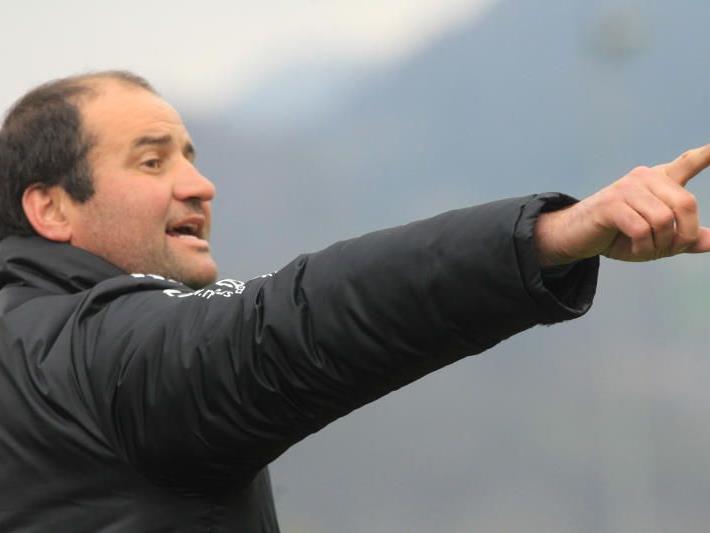 Alexander Schwärzler bildet mit Dominik Helbock das Trainergespann in Bizau.