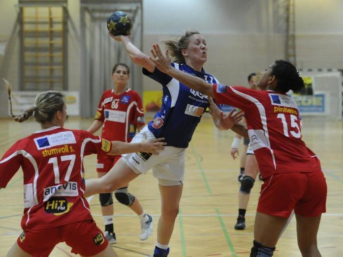 Feldkirchs Handballdamen bleiben erstklassig.