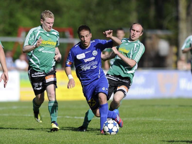 Sebi Beer zum letzten Mal für FC Hard im Einsatz.