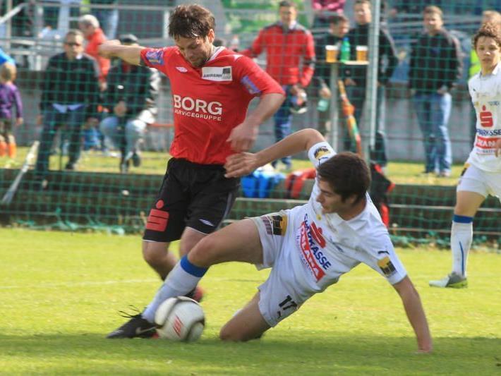Zweimal Unentschieden spielte der FC Nenzing.