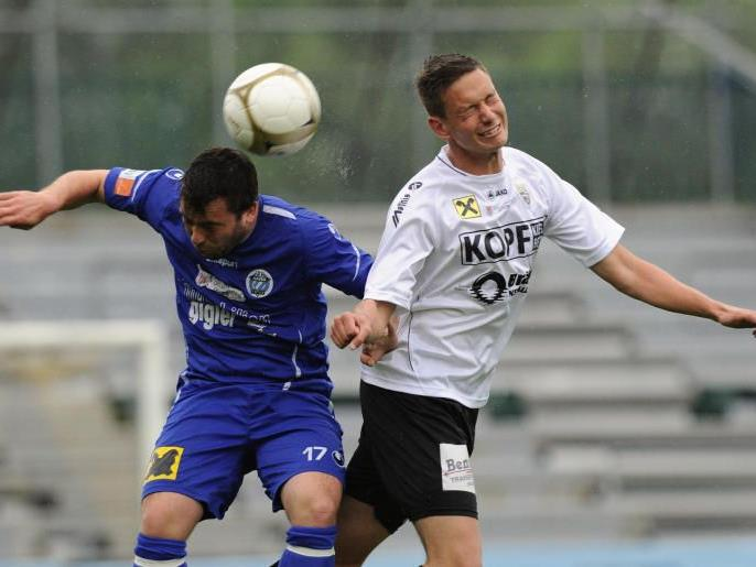 Nur FC Hard hat am viertletzten Spieltag der Westliga Heimrecht.