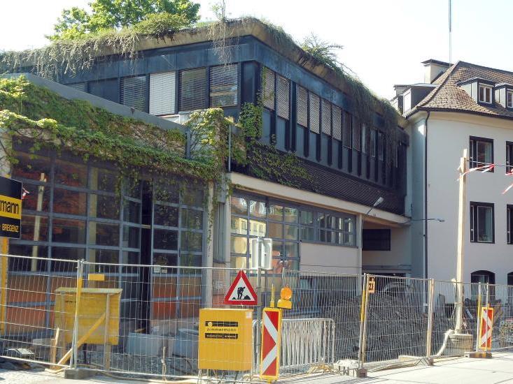 Die ehemalige Rotationsdruckerei der VN wird zu einem modernen Wohn- und Geschäftshaus umgebaut.